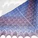 Forest Berries Triangular Shawl pattern