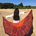 Solar Flair Shawl pattern