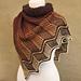 Stratum shawl pattern