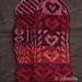 With Love Mitten kit pattern