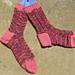 Feather Fantastic Socks pattern