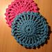 Caboodle Mandala Coaster pattern