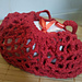 Little Red Riding Hood mesh gift bag pattern
