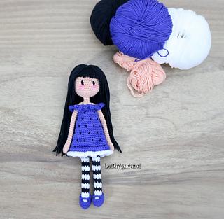Ravelry: Gorjuss Girl pattern by Leithygurumi Amigurumi | Bonecas ... | 313x320
