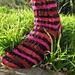 Kiss Kiss Lace Lace Socks pattern