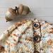 Easy Sock Yarn Ponytail Hat pattern