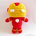Ironman- Marvels superhero amigurumi pattern