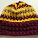 Football Team Hat pattern