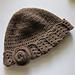 Gorro de Crochet Bege pattern
