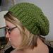 Lemon Grass Slouchy Hat pattern