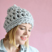 30 Minute Easy Chunk Crochet Beanie pattern