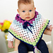 Cheerful poncho pattern