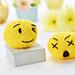 Knitted emojis pattern