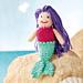 Violet the Mermaid pattern