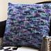 Vinété Slip-Stitch Throw Pillow pattern