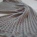 Gray Fog Baby Blanket pattern