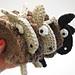 Crocheted Flat Sheep pattern
