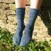 Added Elegance Socks pattern