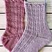 Queen Regent Socks pattern