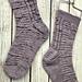 The Earl Socks pattern