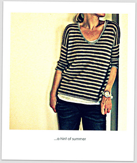 ...a hint of summer pattern by Isabell Kraemer