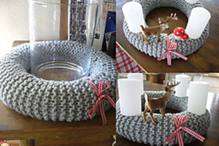 Ravelry Diy Advent Wreath Pattern By Isabell Kraemer