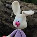 Zoe, the shy bunny pattern