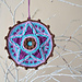 Starry Day Christmas Hanging Decoration pattern
