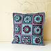 Dahlia Pillow Cover pattern