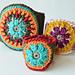Mandala Bracelet Overlay Crochet pattern