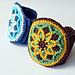 Bloomy Bracelet Overlay pattern