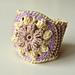 Spring Flower Bracelet pattern