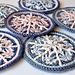 Frozen Snowflake hanging ornament pattern