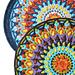 Spanish Mandala Pillow overlay crochet pattern