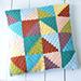 C2C Pastel Triangles Pillow pattern