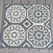 Wintery Octagon Mandala pattern