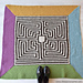 Roman Labyrinth Rug pattern