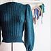 Fine Line sweater pattern