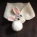 Children's bunny scarf pattern