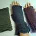 3 Magic Loop Patterns for Fingerless Gloves pattern