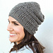 Lace Slouch Hat pattern
