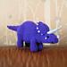 Dinosaur - Triceratops pattern