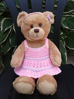 Honey Teddy Bear [Free Crochet Pattern] | 320x240