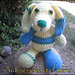 Patrick the Patchwork Puppy pattern