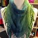 Ribbon Fringed Scarf pattern