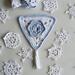 November: Frosty Flower Bunting pattern