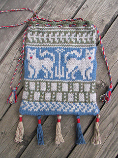 Finished: Medieval pouch again