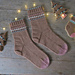 Iced Sugar Cookie Socks pattern