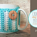 Striped Mug Cozy pattern