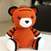 Amigurumi Cubby the Tiger pattern